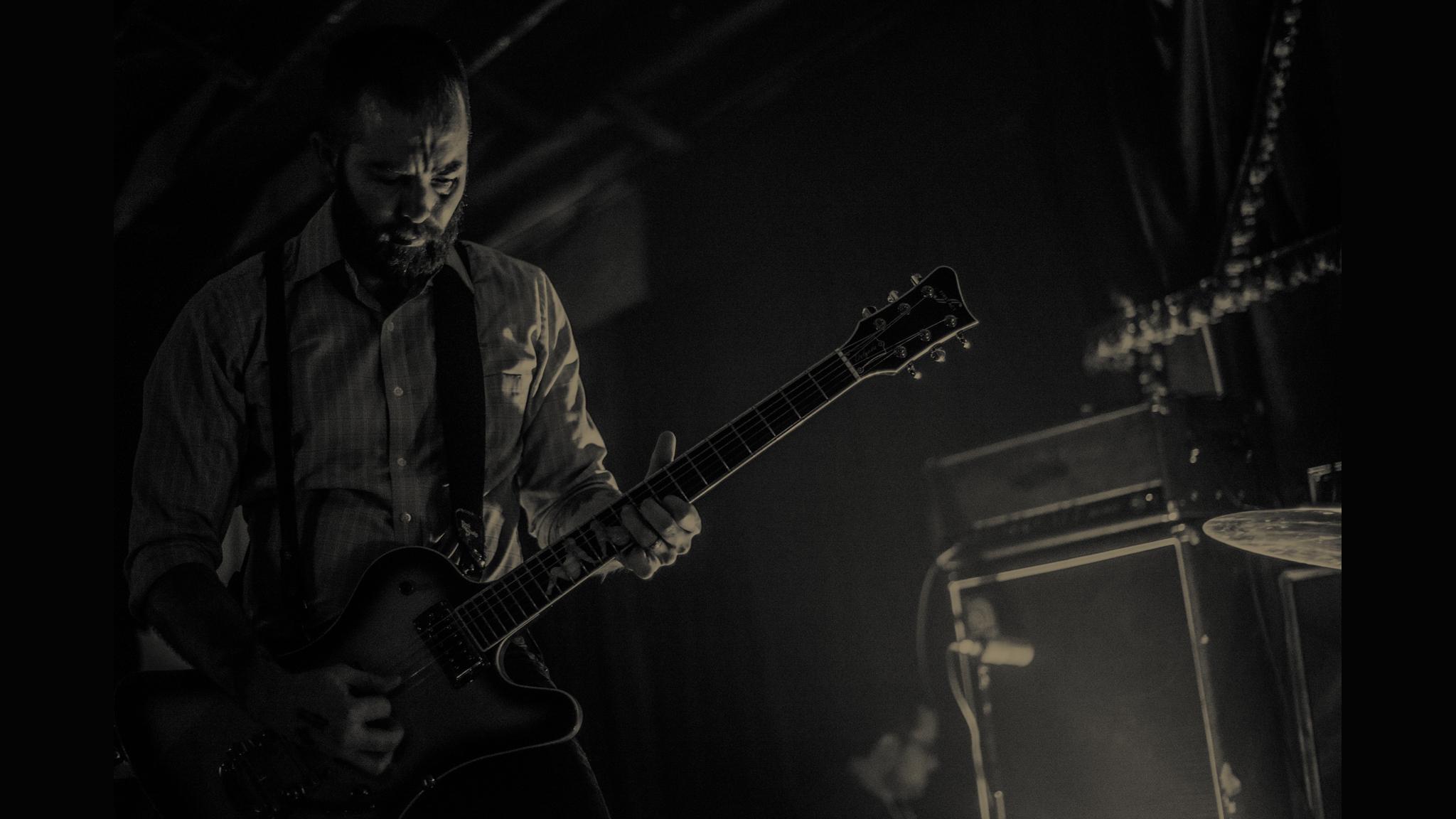 Bassist Brian Cook