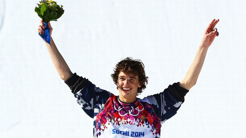 He's already armed with a floral arrangement, and now Nick Goepper just needs a Valentine.