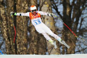Bode Miller, who tied for bronze Sunday in super-G, is the oldest Alpine skier to medal at 36.
