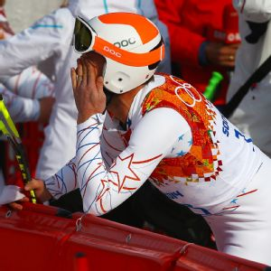 Bode Miller said after Sunday's super-G race that emotions caught up with him at the finish line.