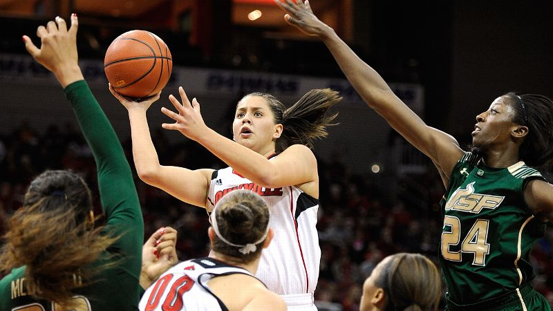 Often with flash and flair, Louisville's shooting guard finds big moments to come up big, perhaps never more than last spring's upset over Baylor in the NCAA tournament Sweet 16. Schimmel scored 22 points in that game, hitting five 3-pointers. -- iespnW's Michelle Smith/i
