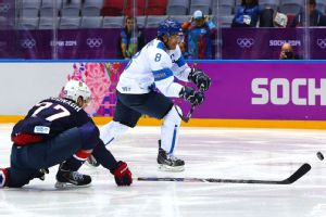 For Teemu Selanne, this was not a bad way to end his Olympic career.