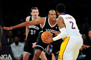 Jason Collins played 10 scoreless minutes with two rebounds in his NBA return.