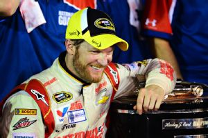 I didn't know if I'd ever get the chance to feel that again and it feels just as good, said Dale Earnhardt Jr. of the emotion of getting to Victory Lane for the Daytona 500.