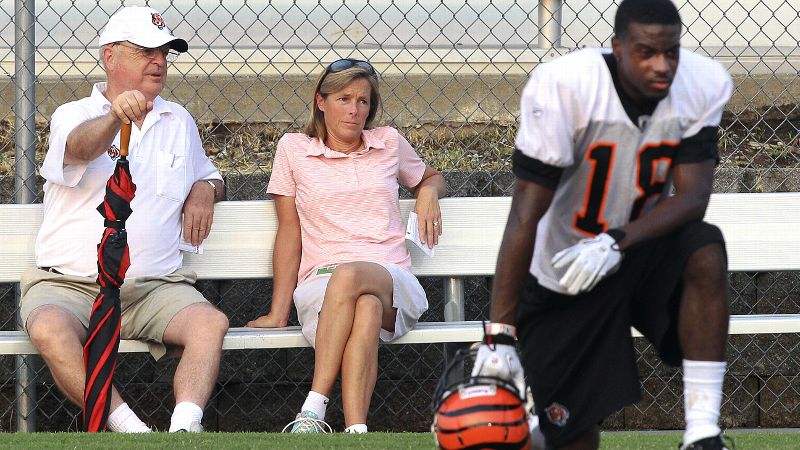 The number of opportunities for women to be involved in football has grown, says Katie Blackburn, executive vice president of the Cincinnati Bengals. Slowly, admittedly, but surely.