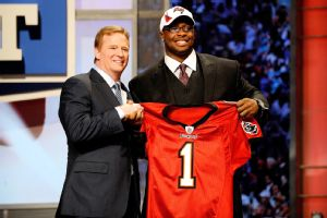 Gerald McCoy had a female agent when he was drafted No. 3 overall by Tampa Bay in 2010.
