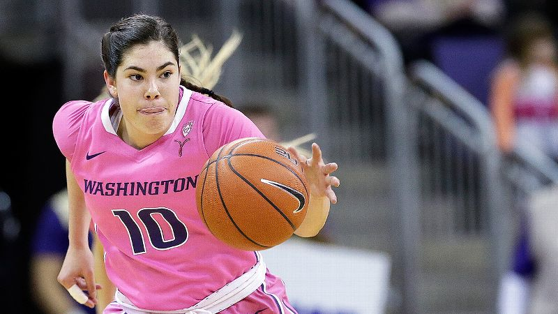Pac-12: Kelsey Plum, Washington, 5-9, G