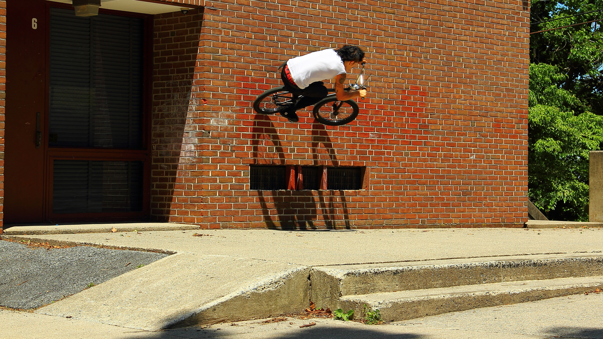 Gap to wallride
