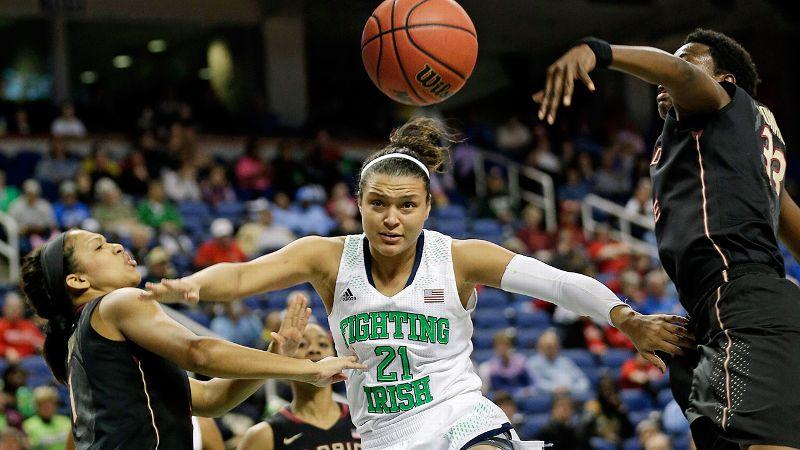 FIRST TEAM: Kayla McBride*, Notre Dame, G, 5-11, sr.
