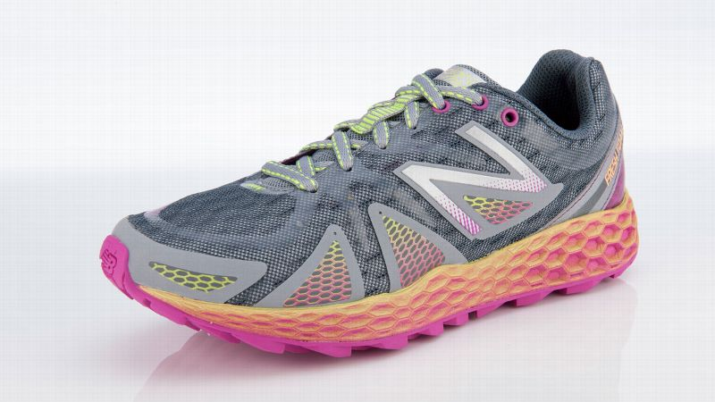 For runners looking for a plush but still stable ride, New Balance's FreshFoam technology is revolutionary. The company designed the cushioning system based on ground reaction forces and impact zones to ensure the shoe cushions and flexes in all the right areas. Similarly, the lug placement on the outsole is designed to provide firm footing up, down and around the trail.