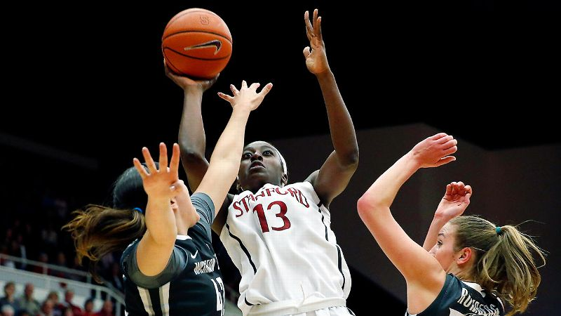 FIRST TEAM: Chiney Ogwumike*, Stanford, F, 6-4, sr.