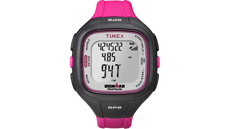Especially if you've worn any type of Timex sport watch before, the Ironman Easy Trainer GPS is simple to figure out and use right out of the box. True to its name, the Easy Trainer is a straightforward GPS-enabled watch for runners that tracks pace, distance and calories burned. It also provides real-time pace while you're out on the roads. If you're in search of a chronograph with GPS capabilities, this watch will suit your needs perfectly. Capable of storing 30 workouts and 20 hours of workout data, you can go back into your training history for stats from past workouts. Featuring a quick GPS connection, the Easy Trainer is ideal for runners who want something that is easy to use and highly accurate.