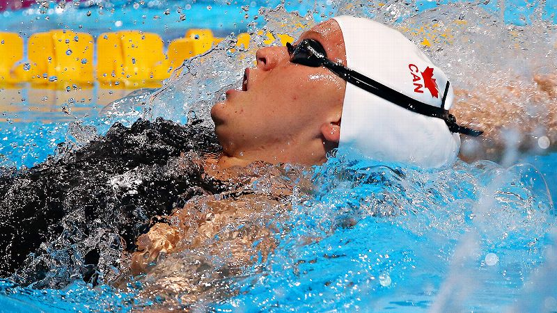 After representing Canada at the 2012 London Olympics and finishing eighth in the 200-meter backstroke, Sinead Russell is slated to swim the 100- and 200-yard backstroke as well as the 200-yard freestyle in Minneapolis.