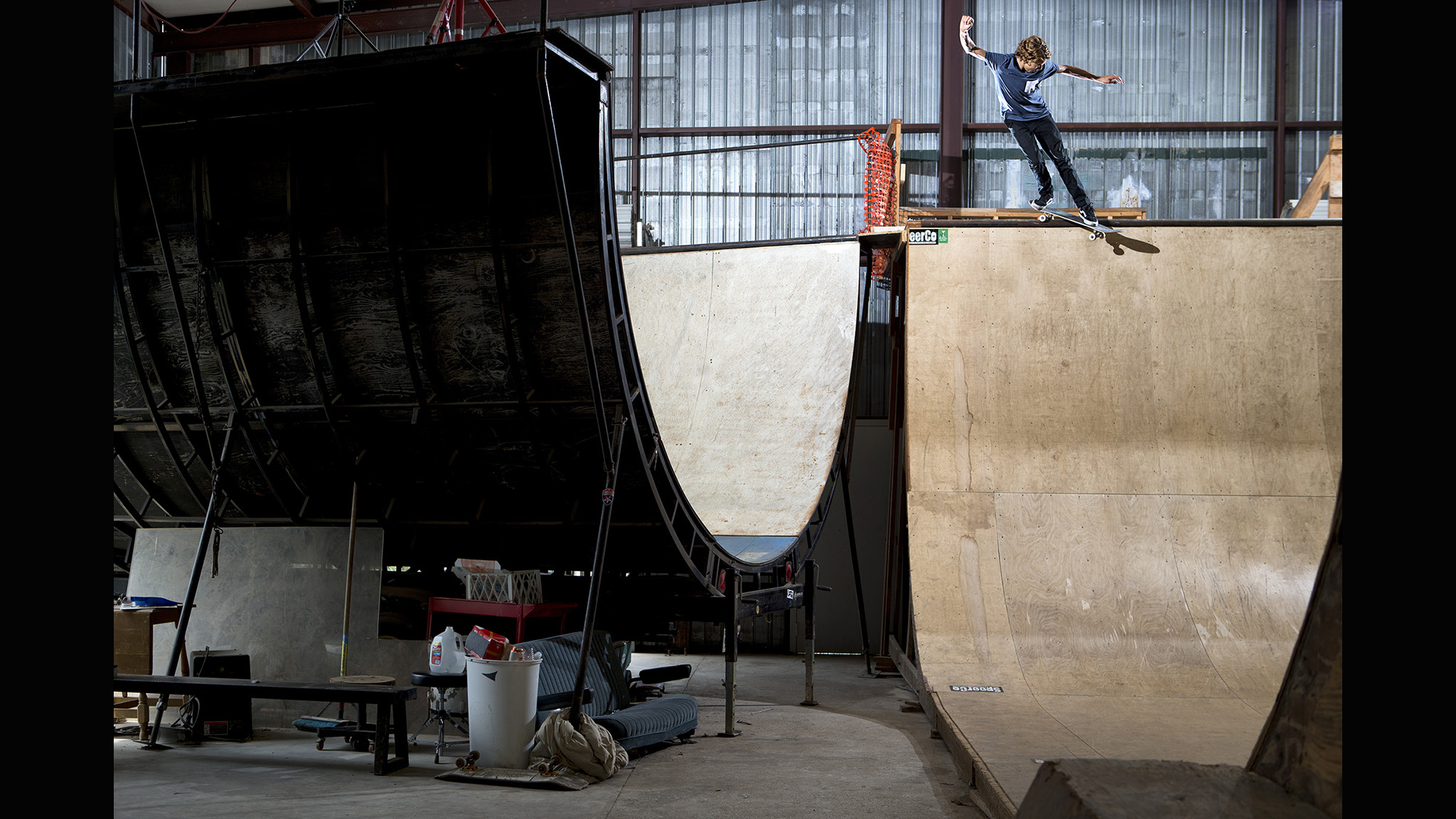 Curren Caples, B/S Smith grind transfer