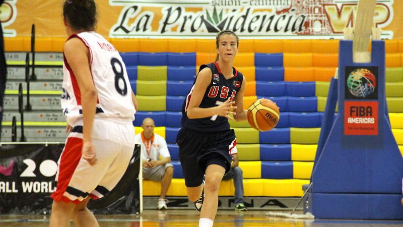 First she wasn't invited to tryouts. Then she got locked out. But Sabrina Ionescu's journey to Colorado Springs led to a trip to Mexico and eventually a gold medal.