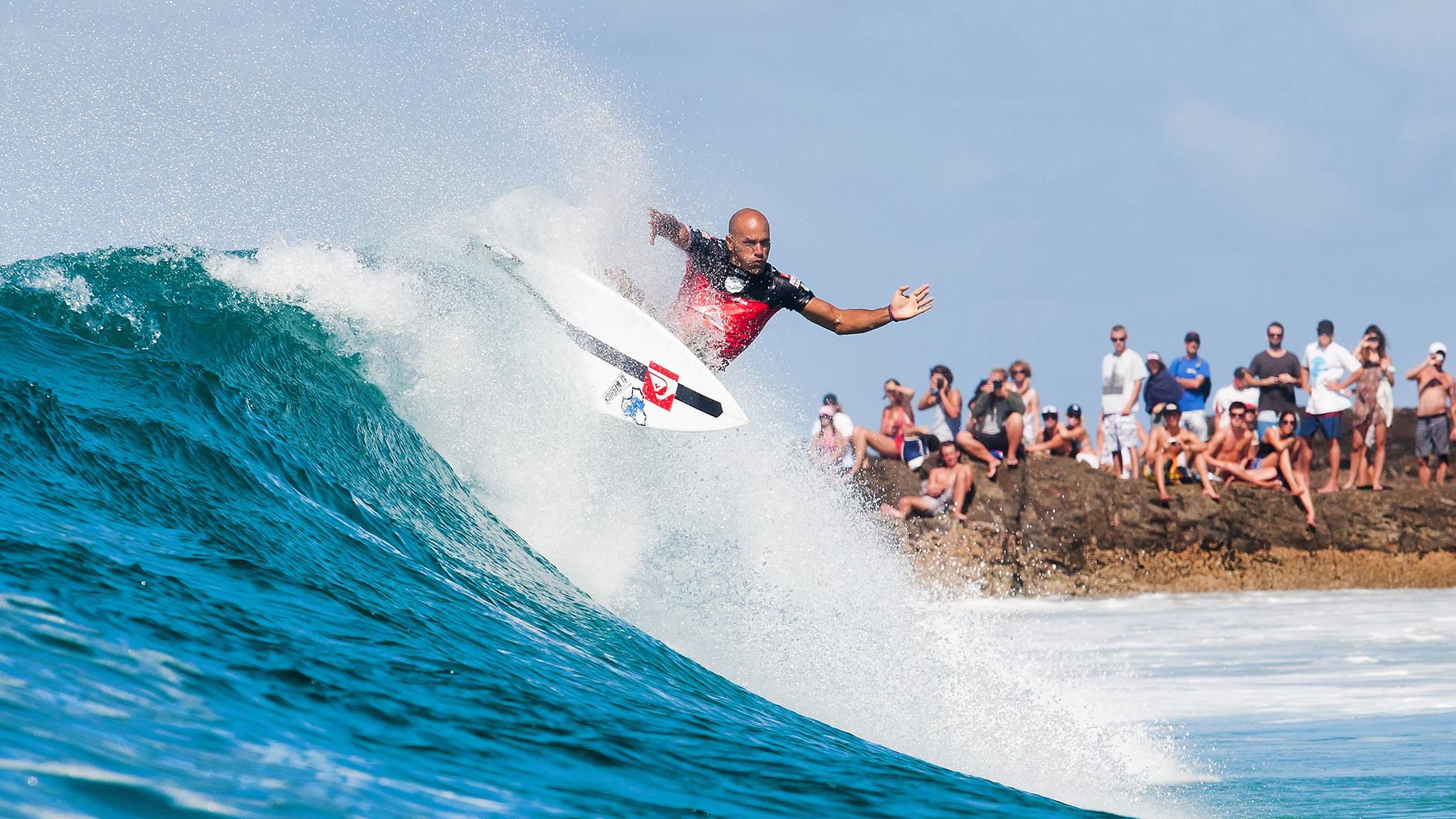 Kelly Slater Ends Sponsorship With Quiksilver