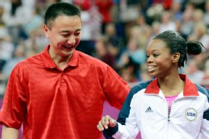Gabby Douglas was coached by Liang Chow at the London Olympics, but the two split up earlier this year.