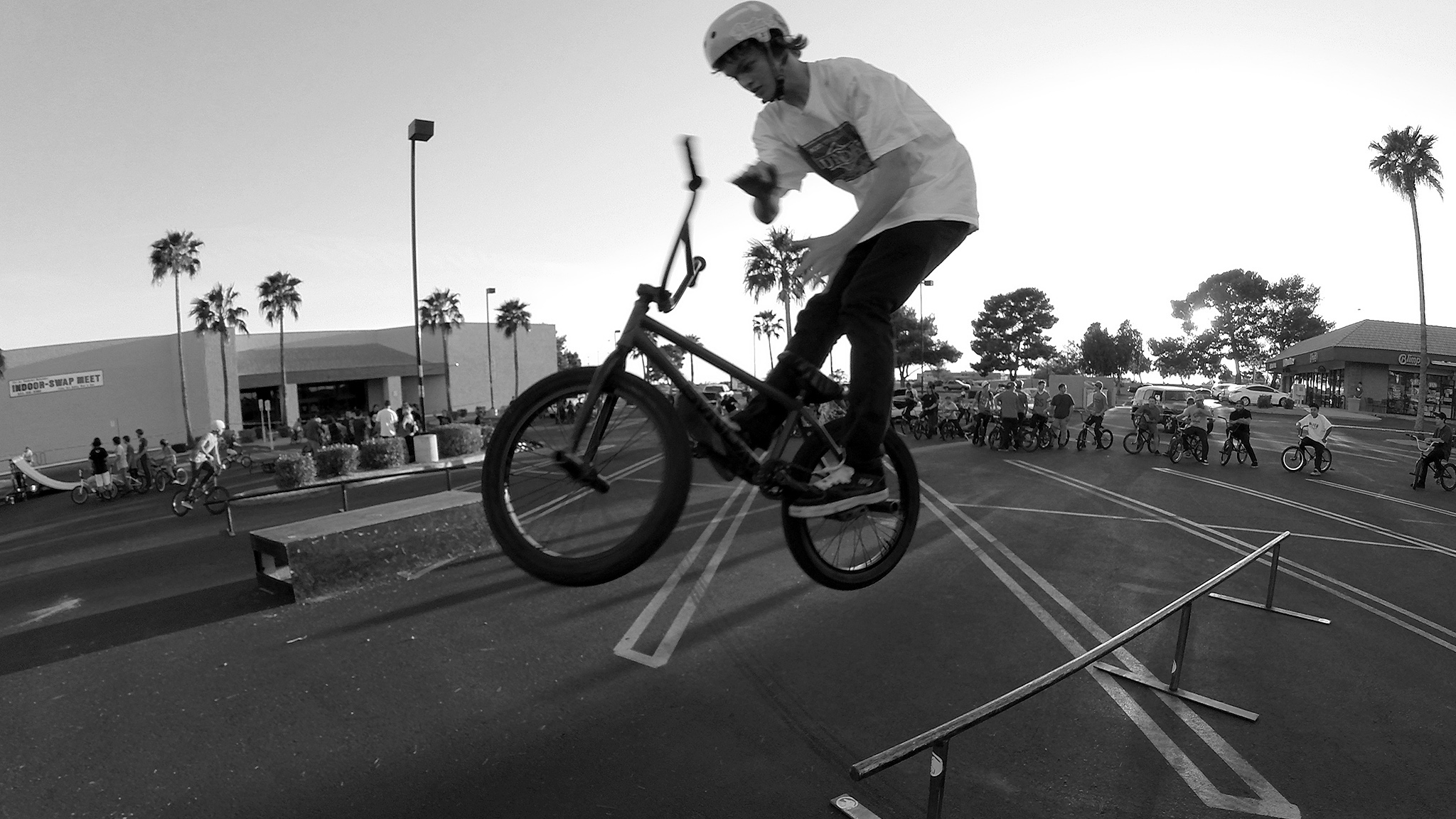 Mark Burnett, barspin