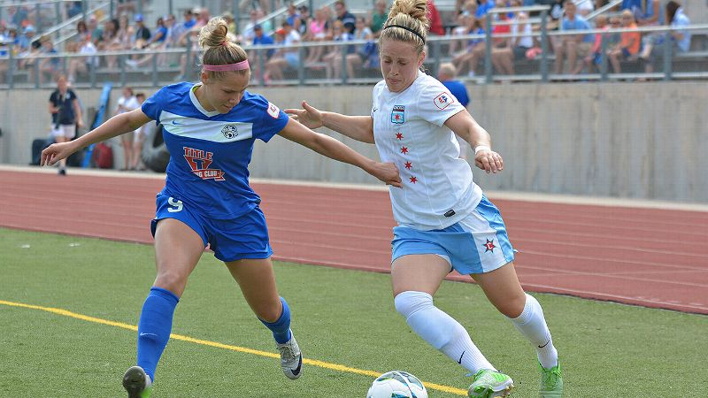 Dash forward Ella Masar's journey to Houston took her through six leagues across two continents.