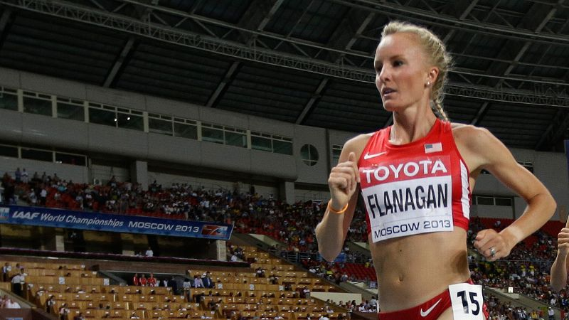 Shalane Flanagan finished fourth in last year's Boston Marathon. She wants to become the first American to win since 1985.
