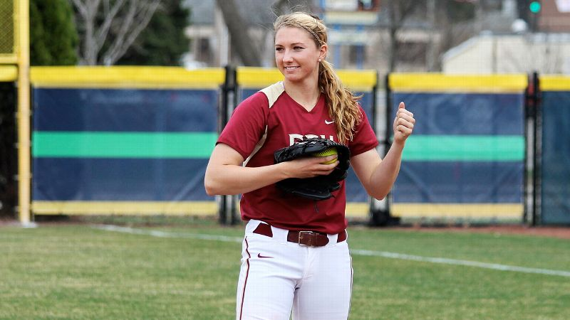 Florida State ace Lacey Waldrop has reasons to smile, leading the nation in wins and all major conference pitchers in ERA.