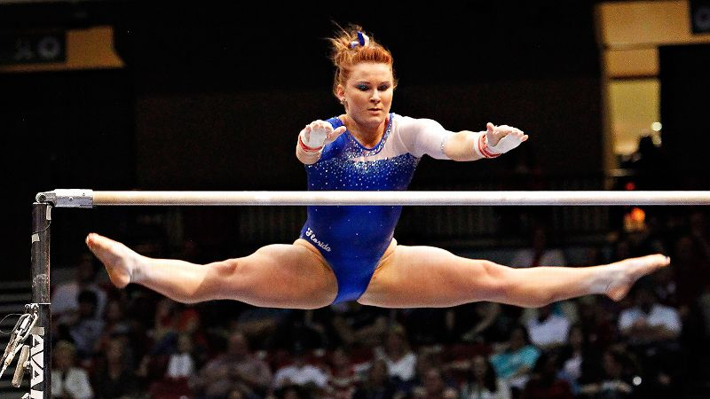Florida sophomore Bridget Sloan is aiming to defend her NCAA all-around championship.