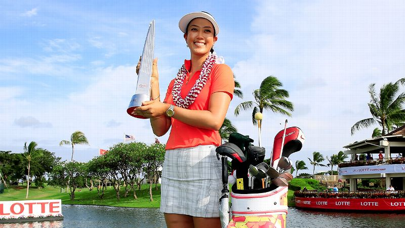 Down four shots going into the final round, Michelle Wie rallied to win in front of her adoring home-state fans.