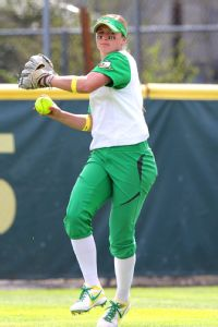 Alexa Peterson is one of two native Oregonians on a Ducks roster dominated by Californians.