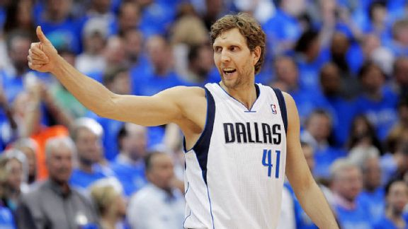 Dirk Nowitzki's new three-year deal gives the Mavs salary-cap flexibility.