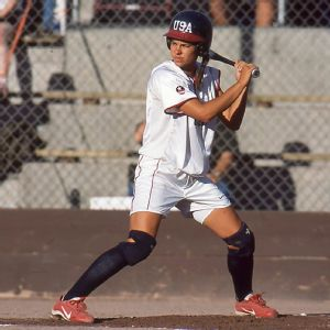 Despite admitted insecurities, Jessica Mendoza was still a force with her bat during her first season with Team USA in 2001.