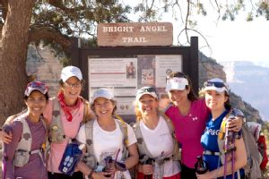 Jenny Hadfield, second from right, knows the spiritual pull Grand Canyon runs have.