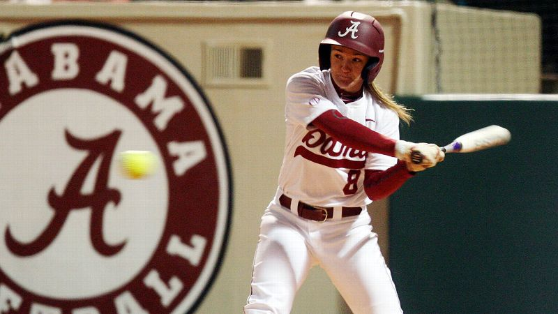 Haylie McCleney and Alabama have a good shot at the No. 1 national seed based on a 7-4 record against top-10 RPI teams.