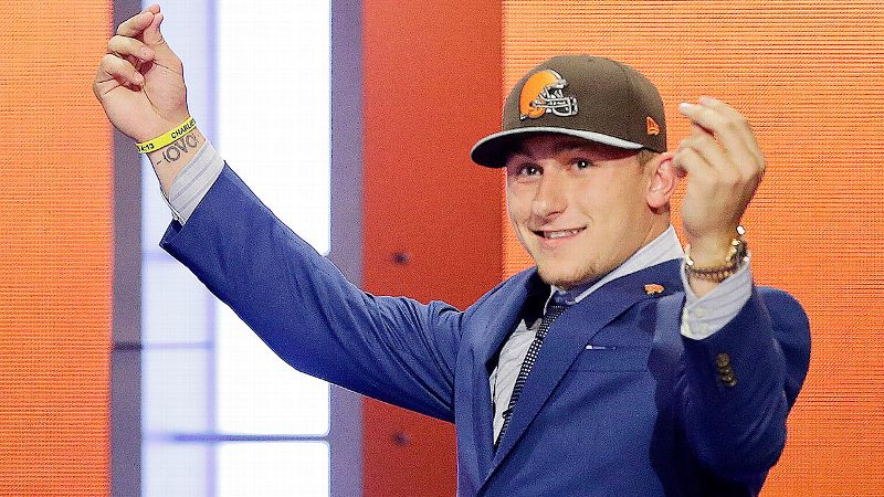 Just wait. Johnny Manziel is sure to provide plenty of entertainment now that he's landed in Cleveland.
