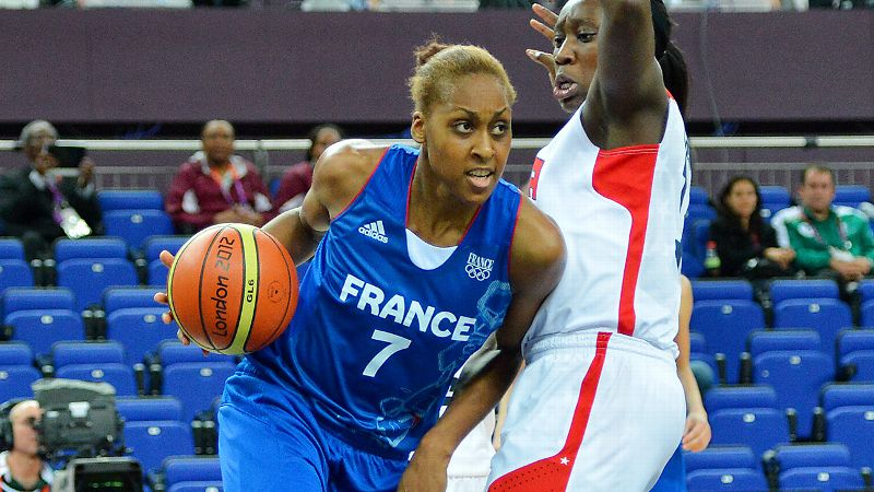 She hasn't played in the WNBA since 2010 when she was with Connecticut. But the versatile forward/center from France seems excited to return to the league, and she can be one more scorer who makes it tough for Sparks foes to try to focus on Candace Parker. i-- Mechelle Voepel/i