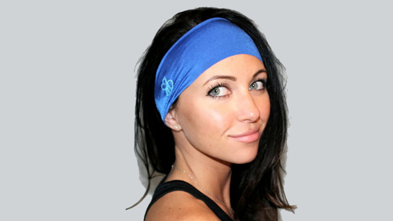 Although there are plenty of headbands on store shelves, few seem to fit correctly. They are too tight, too loose or just uncomfortable in general. Enter the Flawless Headband. Made with the active woman in mind, this 3.5-inch wide headband is made with a moisture-wicking four-way stretch knit that will breathe and stay on your head through the toughest workouts.