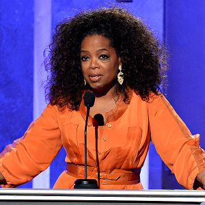 Nearly every story on Oprah Winfrey's possible purchase of the Clippers includes specific mention that she is a woman.