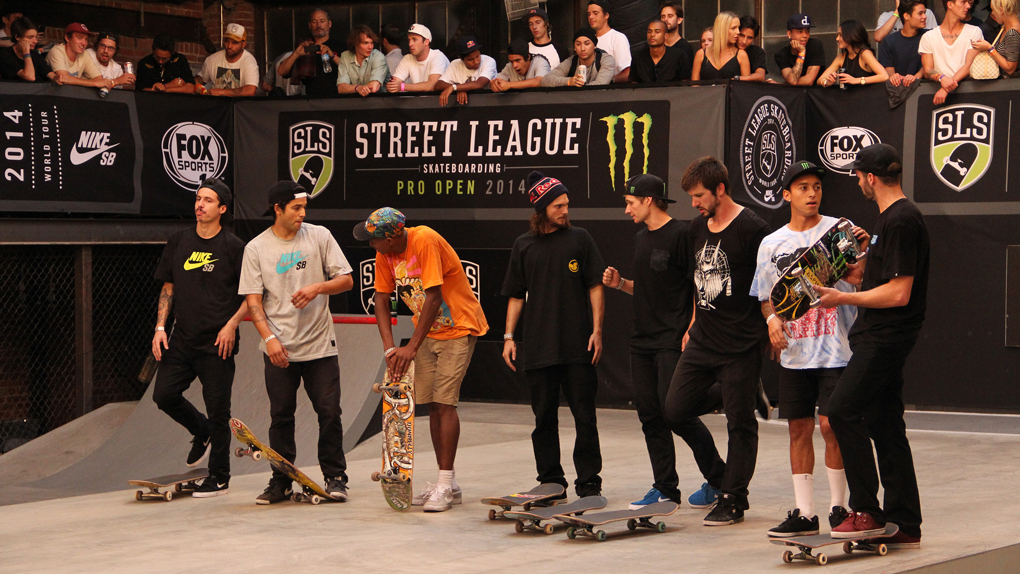 Street League Open finalists