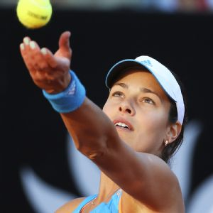 A wandering ball toss has been one of the problems for Ana Ivanovic the past few years.
