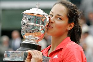 Overwhelming pressure came along with the French Open trophy in 2008, Ana Ivanovic says.