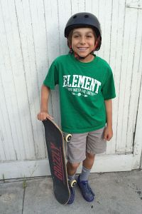 Bradshaw, 10, has been a YouTube skate sensation since he was 6.