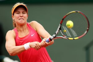 Eugenie Bouchard has reached the French Open semis, where Maria Sharapova now awaits.