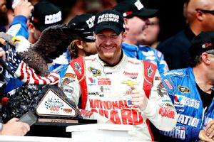 Dale Earnhardt Jr. has multiple wins in a season for the first time since 2004.