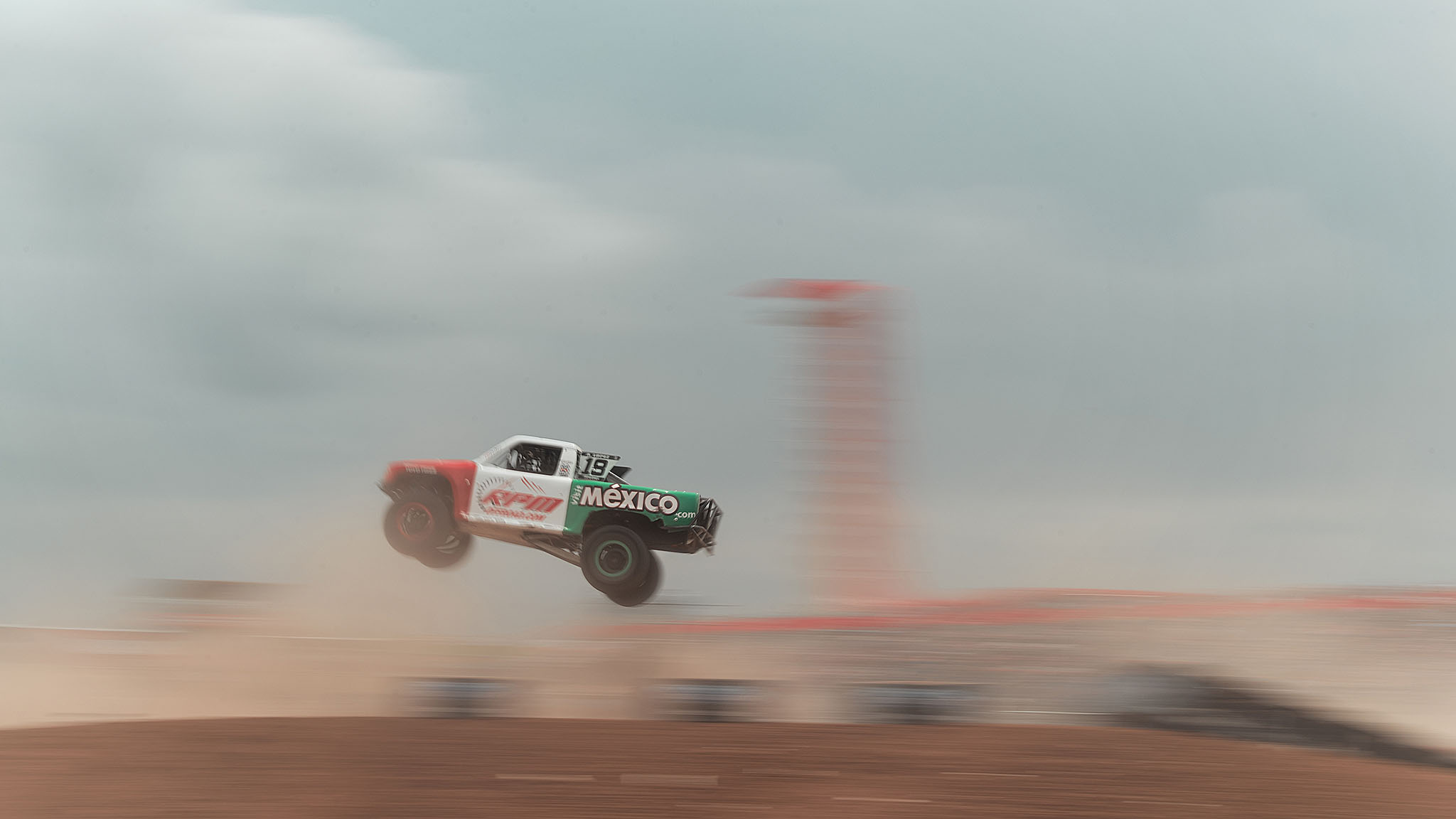 Apdaly Lopez won the X Games debut of Stadium Super Truck racing on Sunday at Circuit of the Americas, just one day after competing in the Baja 500 back home in Mexico. The win bumped him into the overall points lead in the 2014 TraxxasOff-Road Racing Championship series, ahead of Robby Gordon.