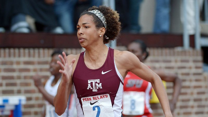 Texas A&M junior Olivia Ekpone leads a 200-meter field stacked with talent from the state of Texas.