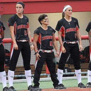 At 26, Kelley Montalvo, center, said she will know it's time to hang up her cleats when she just feels it.