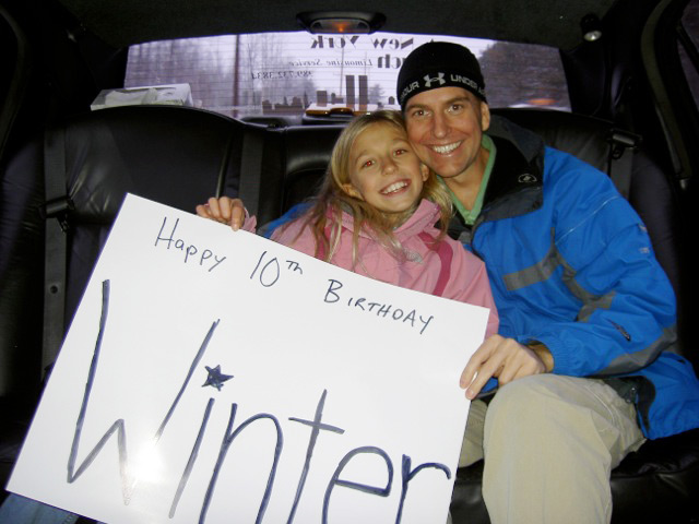 Winter Vinecki, youngest person (at 14) to run a marathon on every continent