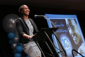 Tamika Catchings, an NCAA and WNBA champion as well as a three-time Olympic gold medalist, is celebrating Catch The Stars' 10th year this summer.