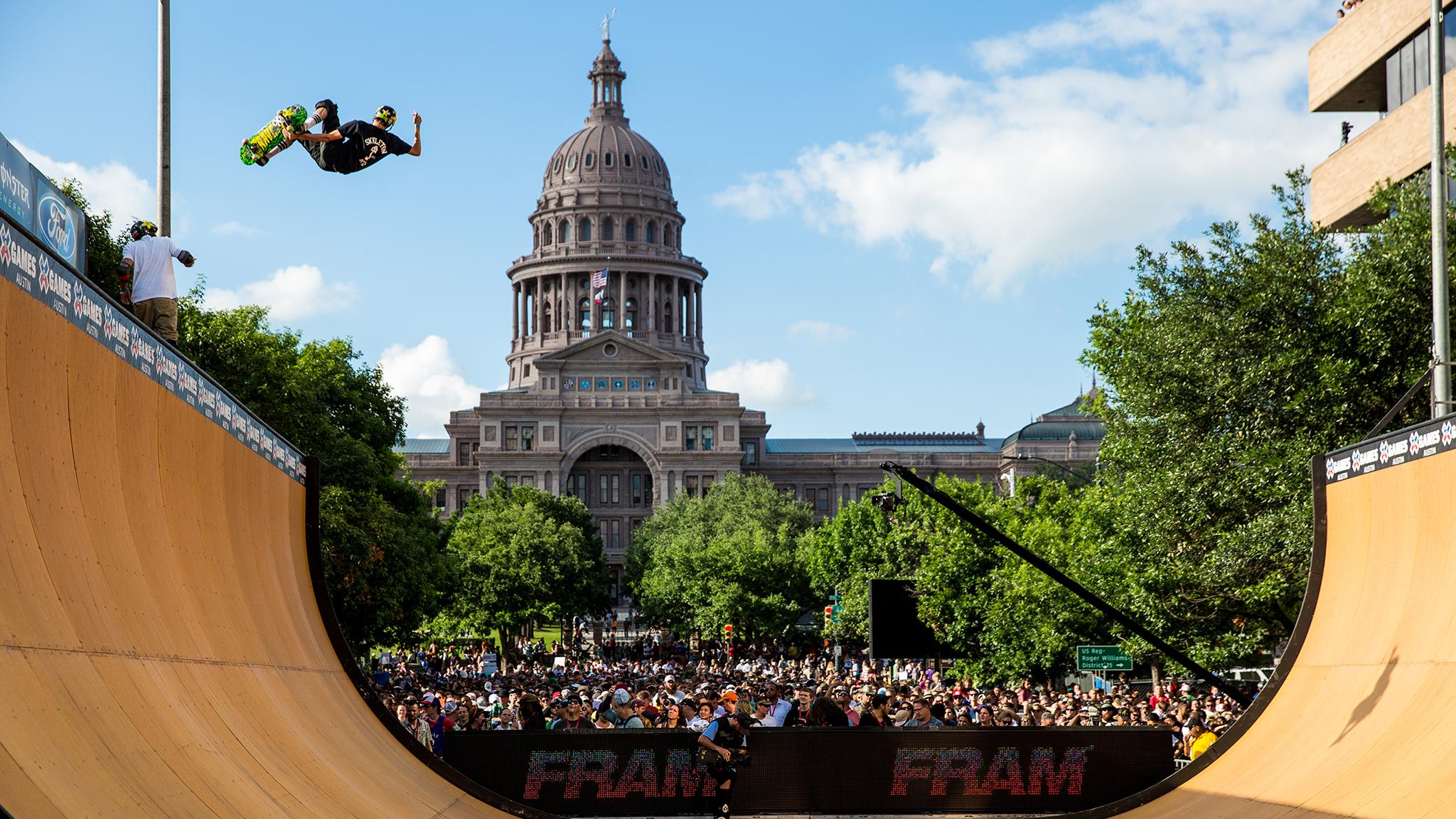 Skateboard Vert -- Jimmy Wilkins