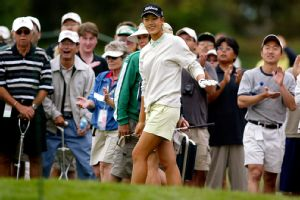 In 2003, Michelle Wie was the center of attention as a 13-year-old qualifier for the U.S. Women's Open.