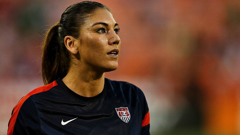 Hope Solo should be suspended from the U.S. women's soccer team. But do not equate her domestic violence case with Ray Rice's. They're not the same thing.